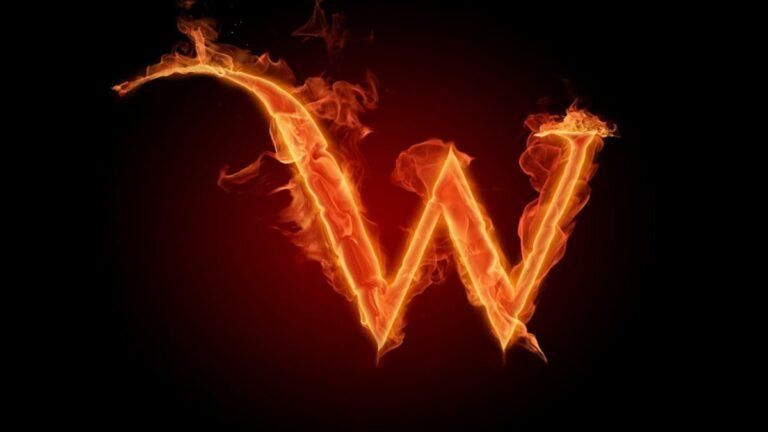 Palabras con W